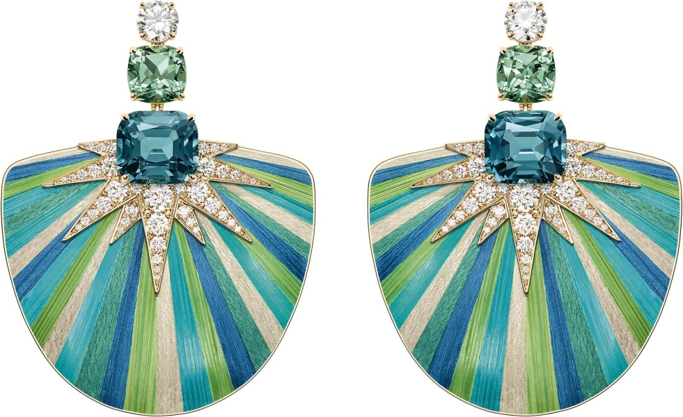 Green Aurora  Piaget high jewelry Sunlight Escape 2018