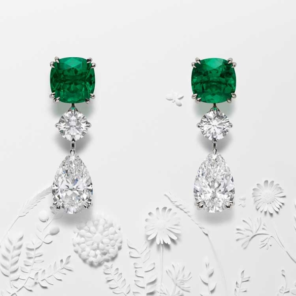 a model of perfection earrings Chopard high jewelry 2018