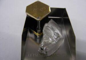 Lucara finds 549-Carat white gem diamond at Botswana Mine