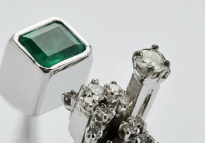 Pomellato's Paris Haute Couture Collection upcycles damaged gemstones