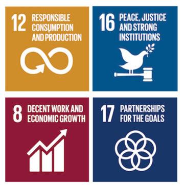 A CSR based on <em>4 Sustainable Development Goals</em>